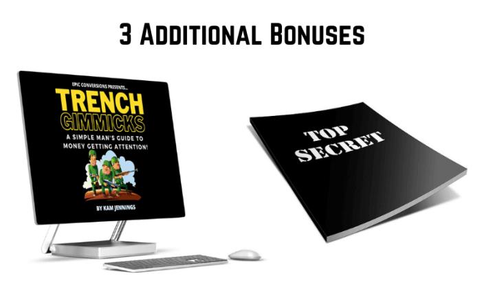 Trench Gimmicks Review - Vendor Bonuses