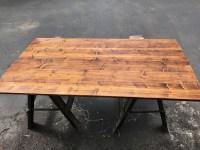 Ikea Patio Table Wood Top   dave eddy