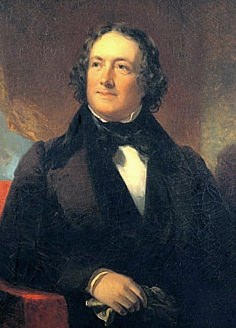 Portrait of Nicholas Biddle by William Inman