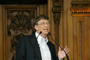 Bill Gates at Sorbonne