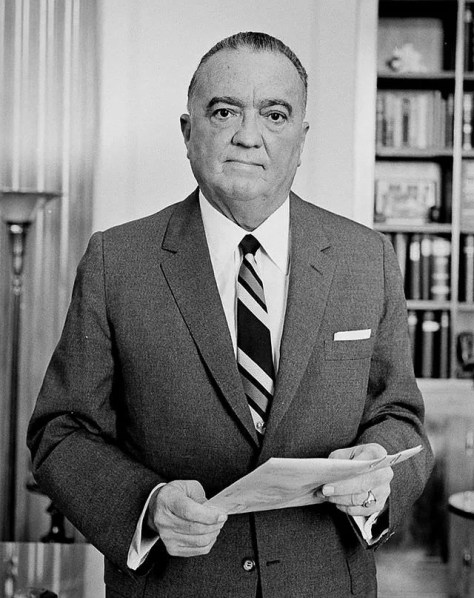 A photo held by the Library of Congress of long-time FBI Director, J. Edgar Hoover.