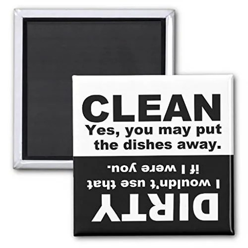 I Wouldn't If... Dishwasher Magnet