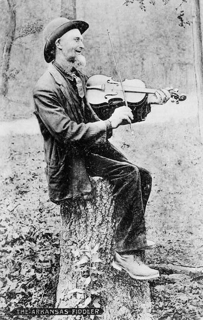 Photo of an Arkansas Fiddler