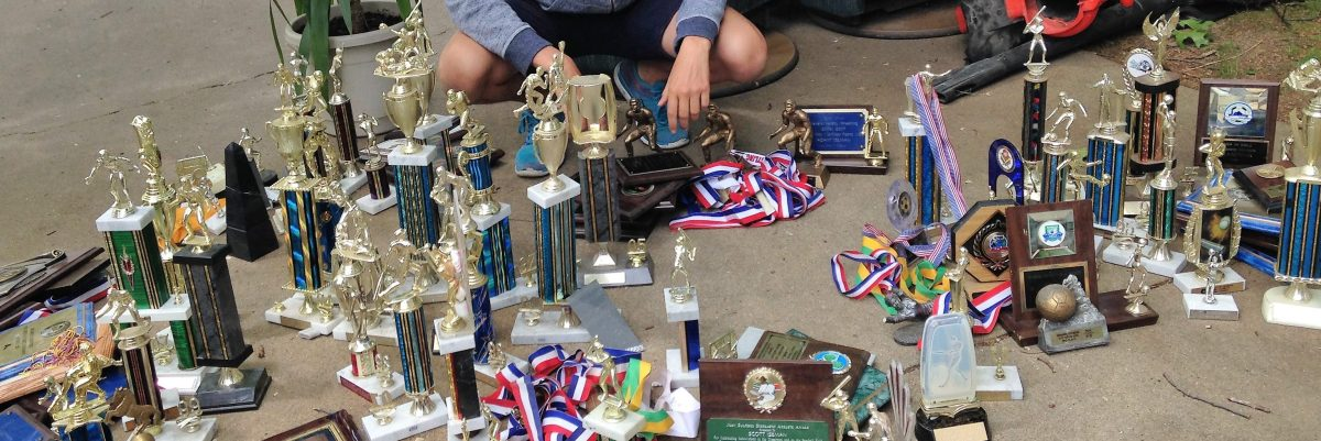 Trophies for the victors — not the spoiled
