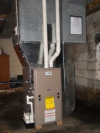 High Efficiency Furnace and Air Conditioner