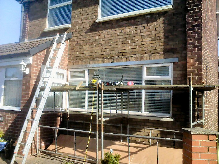 Handmade Bay Window Canopies Newcastle, Rehau Window