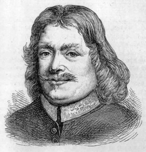 A sketch of John Bunyan.
