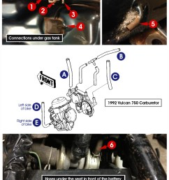 below is a image of the bottom of my fuel tank hose connections in front of the battery and the carburetor please help me connect the dots  [ 1000 x 1308 Pixel ]