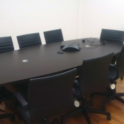 Used Conference Table Chairs Chair Covers Ebay New Boat Shaped 96 Quot Davena Office