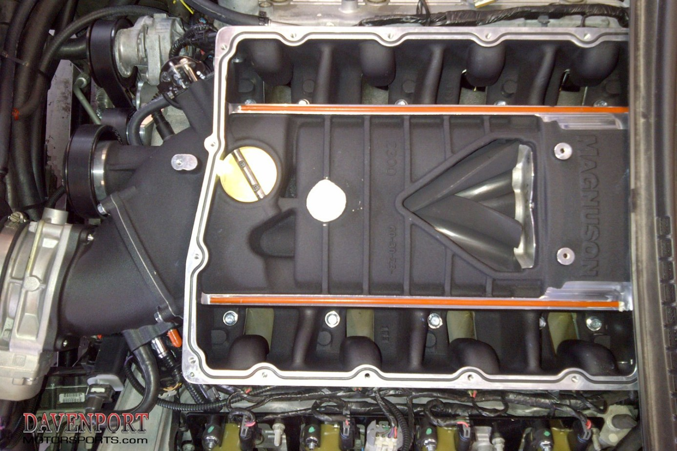 2008-2013 C6 LS3 Stage 2 630hp Heartbeat Supercharger package