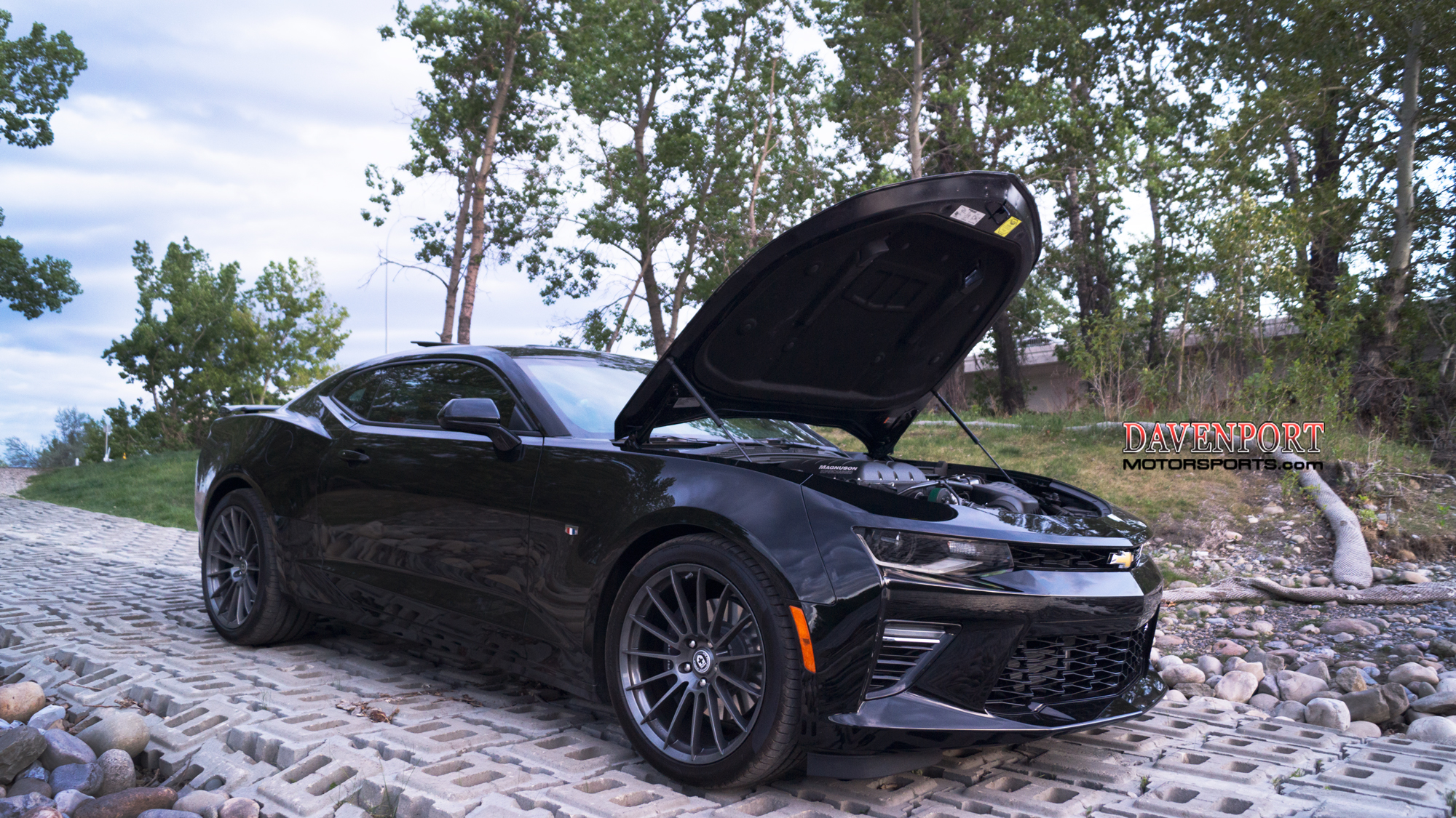 Supercharged 620hp Camaro Ss Performance Package
