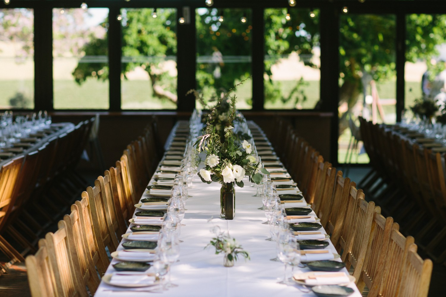 Coriole winery wedding mclarenvale , table setting , details