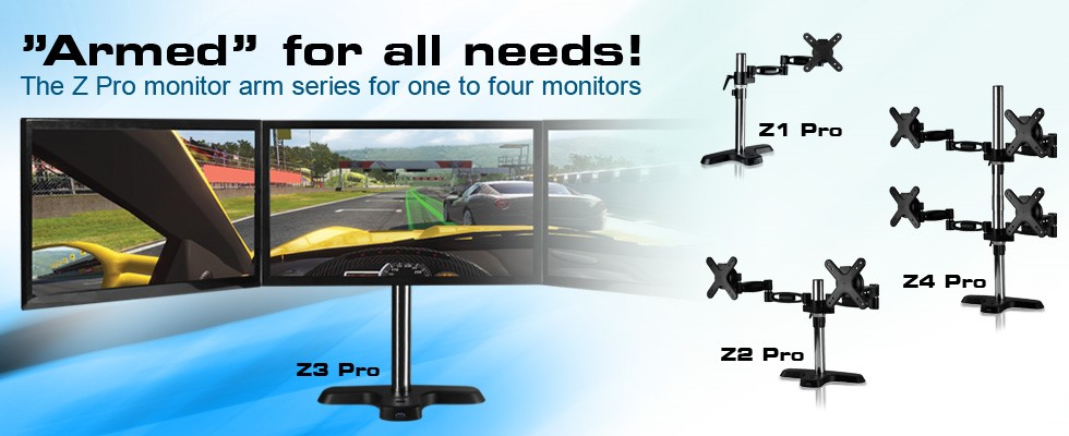 Armed for all needs! – ARCTIC release new range of Monitor Arms