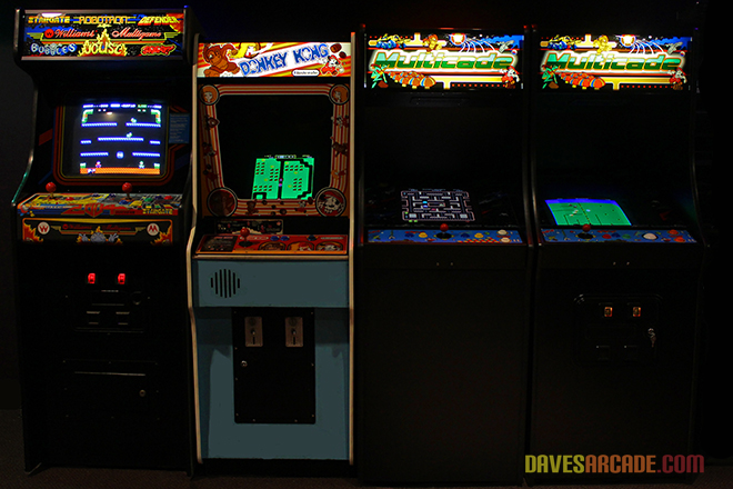 coin operated multicade video game