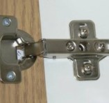 Two part hinge