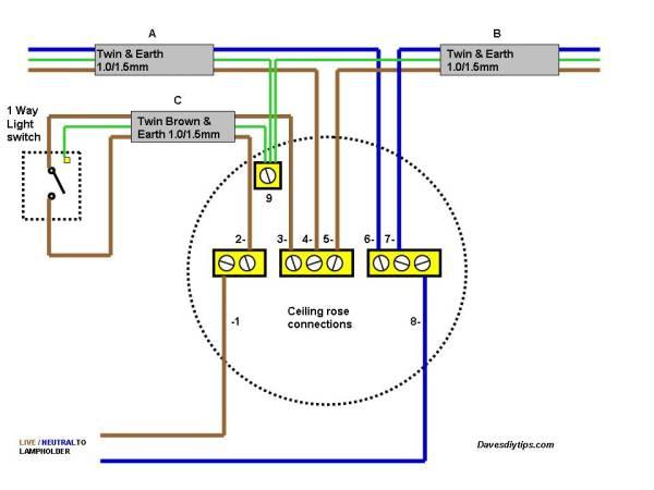 Ceiling Spot Light Wiring Diagram | Bathroom Ceiling Light Wiring Diagram |  | Wiring Diagram