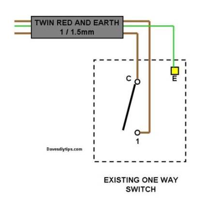 one way switch wiring diagram 1976 bmw 2002 1 lighting circuit manual e books modified for two switching dave u0027s diy1