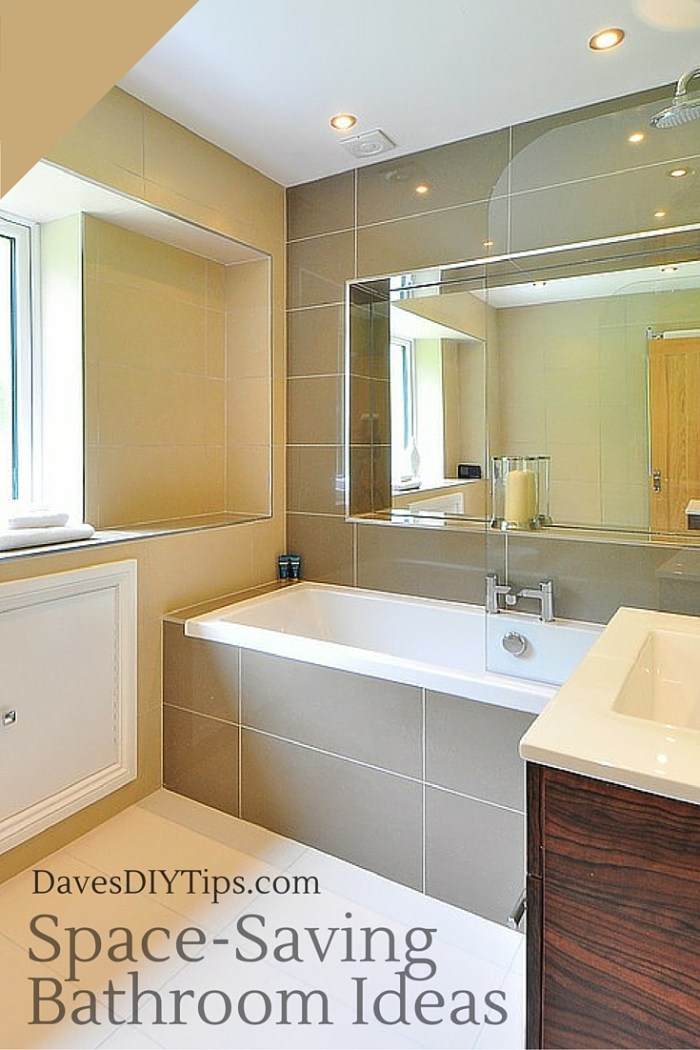 Space-Saving Bathroom Ideas