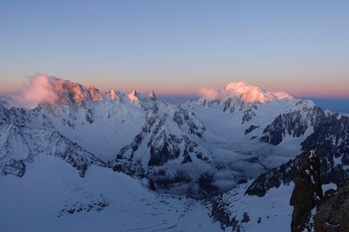 Alpine Climbing around the alps