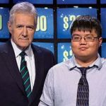 alex trebek and arthur chu on jeopardy
