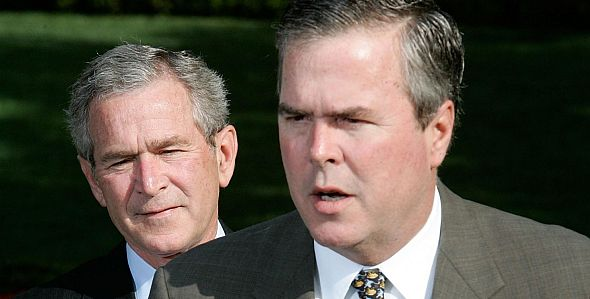 george w. and jeb bush