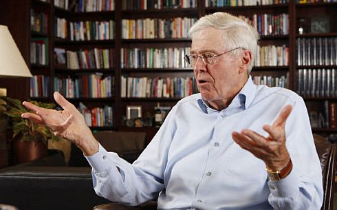 charles koch election 2012