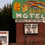 The Chief Motel in Whitehall, Mont.