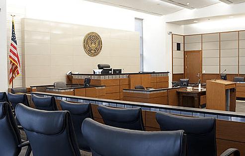district court jury box