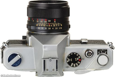 My first dream machine: the Mamiya 1000 DTL.