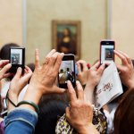 phones and the mona lisa