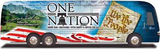 sarah palin bus tour