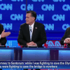 santorum, romney and gingrich debate in arizona