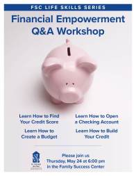 Financial Empowerment Workshop FSC flyer v1