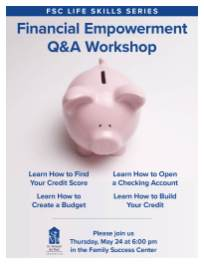 Financial Empowerment Workshop FSC flyer v1