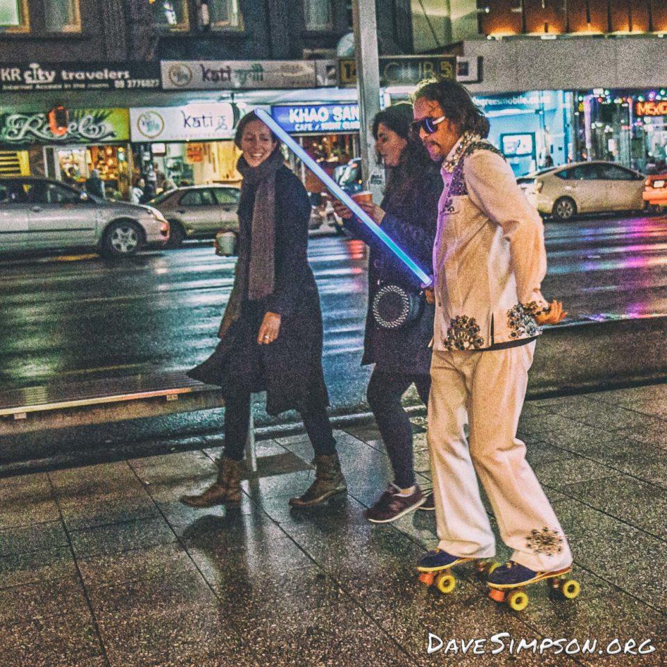 First Thursday - Roller Skater (6 of 12)