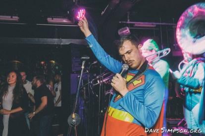 Superhero Second Line live at Neck of The Woods, 4 Nov 2016