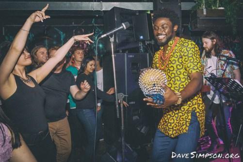 Ijebu Pleasure Club live at Neck of The Woods, 4 Nov 2016