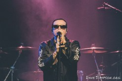 The Cult live at the Powerstation, Auckland 21 November 2016