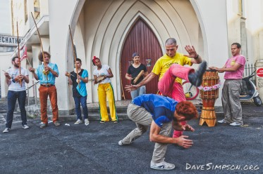 Capoeira Mandinga Aotearoa at Krd First Thursdays 1 Dec 2016