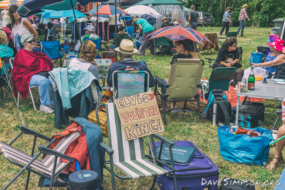 Elvis In The Park 2017 at Cranwell Park Auckland