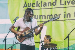 Borneo live at Summer In the Square, Auckland 9 January 2017