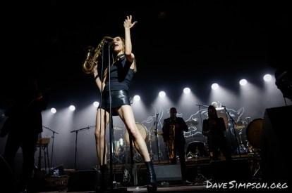 PJ Harvey at the Logan Campbell Centre, Auckland 24 January 2017