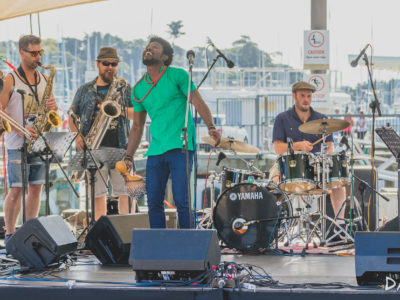 Ijebu Pleasure Club live at Silo Park, Auckland