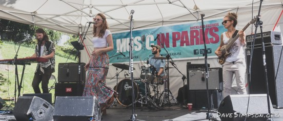 Esther Stephens and The Means live at the Myers Park Medley 26 February 2017