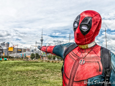 Deadpool Cosplay – Auckland