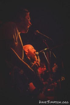 Bloodnut live supporting Windhand and Cough at the Kings Arms, Auckland 1 April 2017