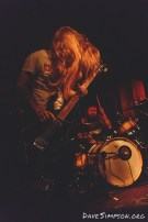 Cough live at the Kings Arms Auckland with Windhand 1 April 2017