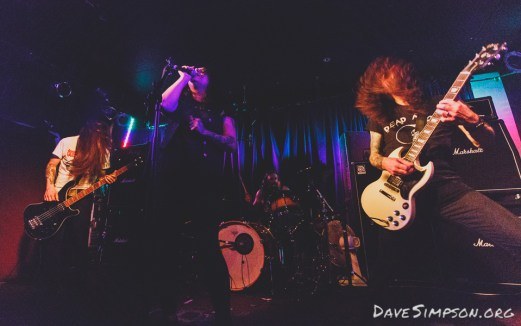 Windhand with Cough at the Kings Arms Tavern, Auckland 1 April 2017