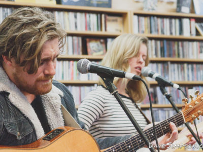 Matty Smith live at Southbound Records, Auckland
