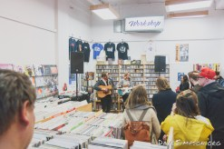 Matty Smith live at Southbound Records, Auckland, New Zealand as part of the Going Global Music Summit, 3 September 2017